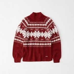 NWT!!! Abercrombie and Fitch fair isle sweater